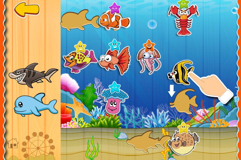 儿童贴纸动物园, 针对1-12岁宝宝设计, 认识动物 拼图